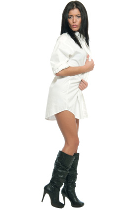 Shirt dress for women