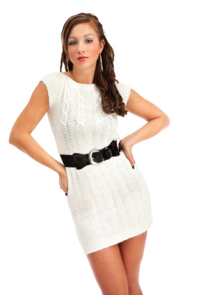Sweater dress for women